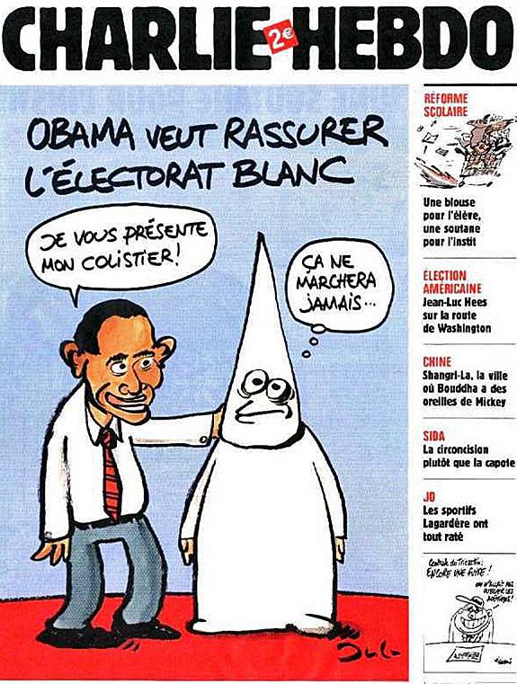 Obama Caricature Monkey