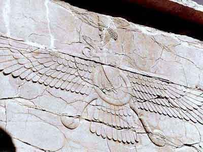 Faravahar%20at%20Persepolis via Angel-Wings