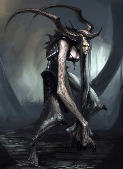 creatures Mythological demon