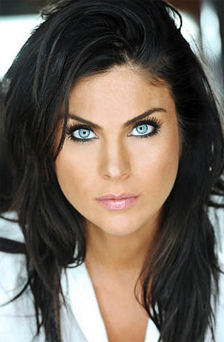 Nadia bjorlin redline blue shirt