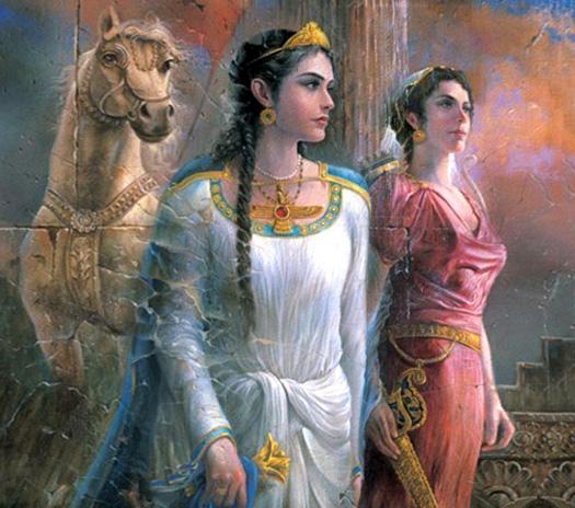 Những người phụ nữ nổi tiếng của thành Ba Tư - H5
