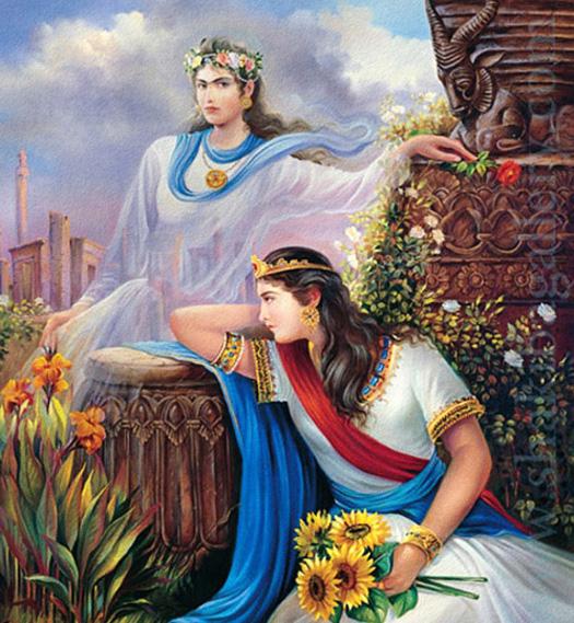 Iran Politics Club: Persian Warrior Queens, Princesses, Commanders 2 – Ahreeman X  Iran Politics C...