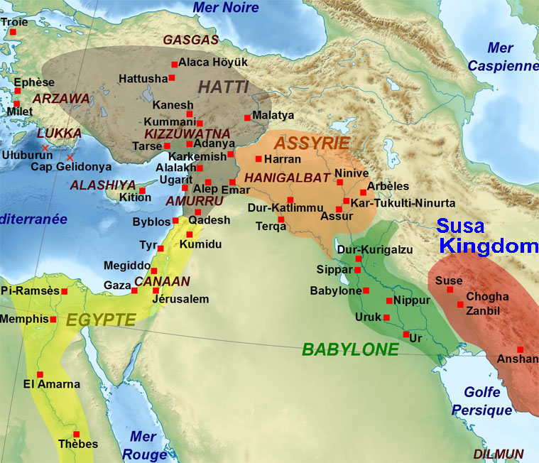 Iran Politics Club Iran Historical Maps Susa Kingdom Aryan - Map of egypt 2000 bc