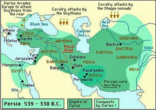 Iran Politics Club Iran Historical Maps 2 Achaemenid Persian Empire