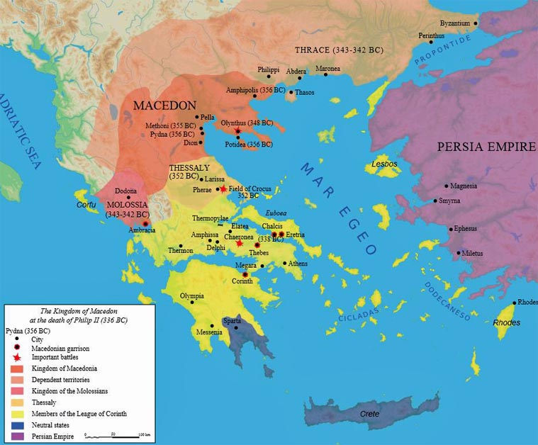 Iran politics club iran historical maps 3 greco persian wars 045 greco persian wars the greek world rise of macedonia 336 bc map gumiabroncs