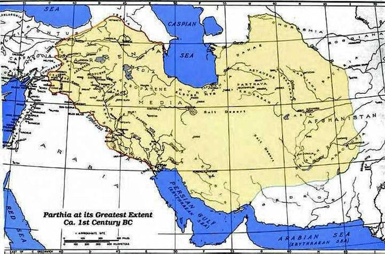 1st Century World Map.Iran Politics Club Iran Historical Maps 4 Arsacid Parthian Empire