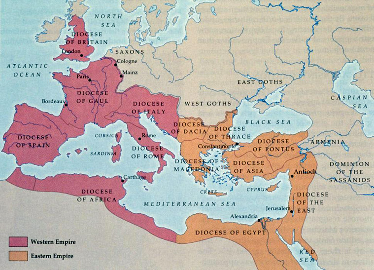 Difference Between The ISLAMIC EMPIRES and The BYZANTINE EMPIRE