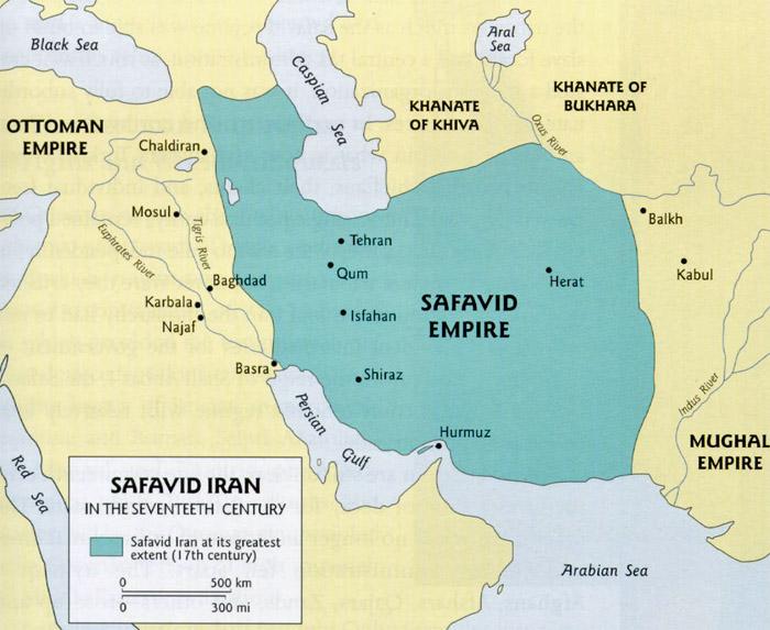 Iran Politics Club: Iran Historical Maps 9: Safavid Persian Empire