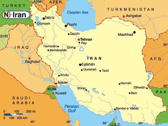 188 iran map