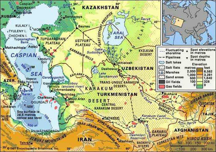 the caspian sea oil politics Pipelines and politics, both foreign and domestic  trans-caspian oil pipeline  connecting kazakhstan and azerbaijan resurrected the dream.