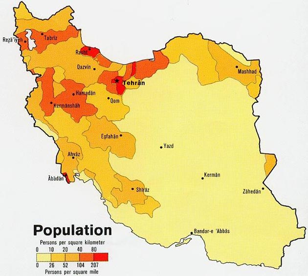 Iran Politics Club Iran Ethnic Population Attractions Maps - Map of iran
