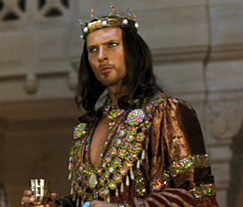 Xerxes the Great Persian Emperor in one night with the kingReal Xerxes