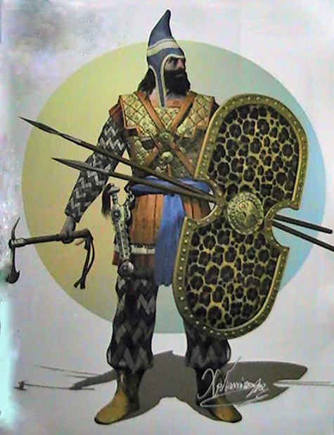 Ancient Persian Soldiers - Biblical Archaeology Ancient ...