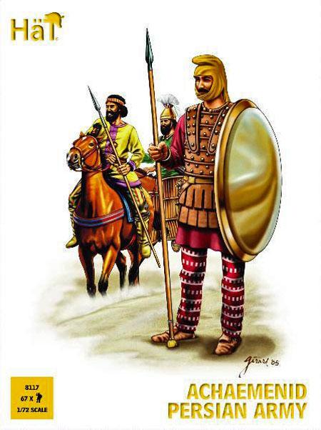 Persian Heavy Cavalry Right Fighting A Greek Hoplite ...