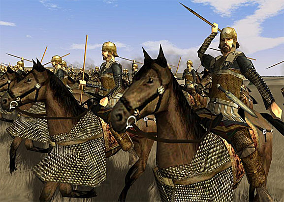 Auxiliary Persian Cavalry Persian Noble Cavalry