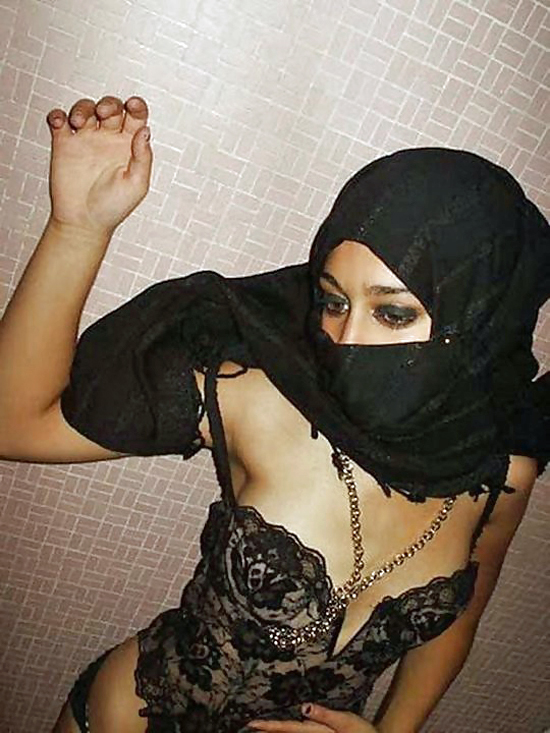 Ready help Muslim girls in lingerie