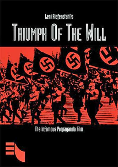 triumph of the will Other articles where triumph of the will is discussed: leni riefenstahl:hitler triumph des willens (1935 triumph of the will), an important documentary study .