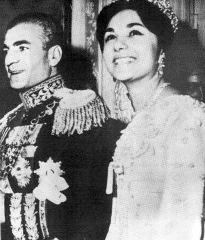 Biker Wedding Vows on Mohammad Reza Shah And Shahbanu Farah Pahlavi Wedding 1959