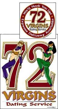 72 virgin dating service patch